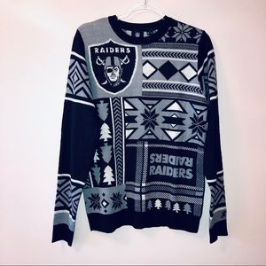 OAKLAND RAIDERS | Holiday NFL Sweater